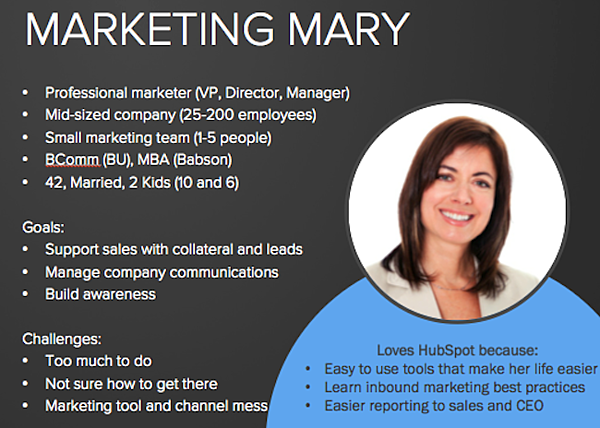 hubspot marketing mary
