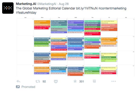 Engaging Promoted Tweet