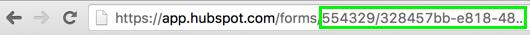 Hubspot Form URL