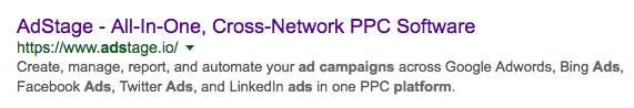 AdStage Ad Copy 10 Things PPC Campaign via blog.adstage.io