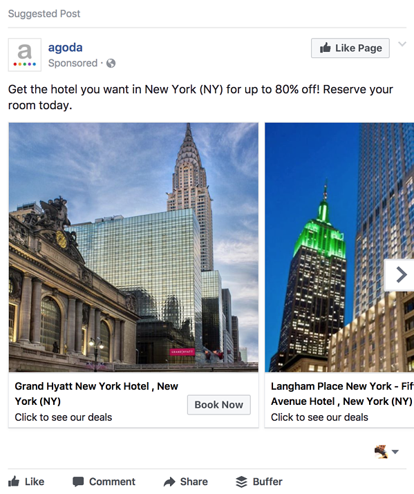 how to rotate ads example