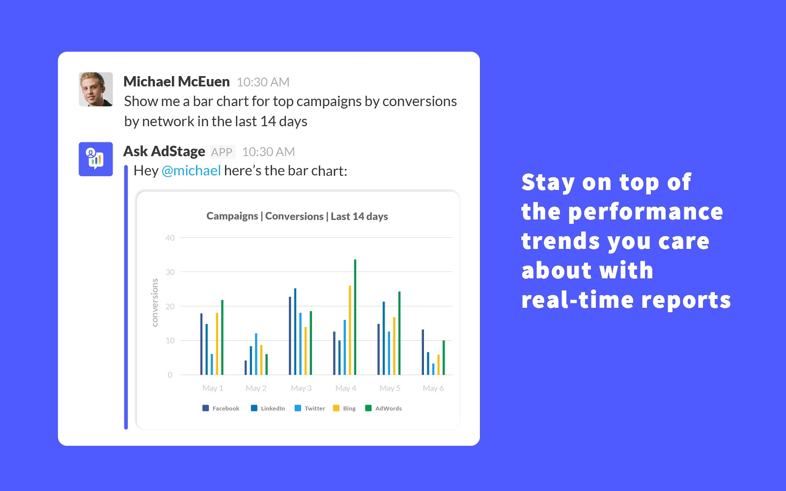 Apply advanced filters to hone in on the metrics you care about