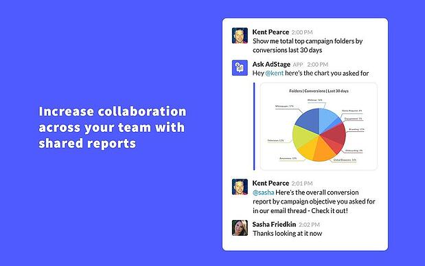 Pull quick campaign performance reports for your team
