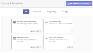 Campaign Schedule for Ad Account via blog.adstage.io