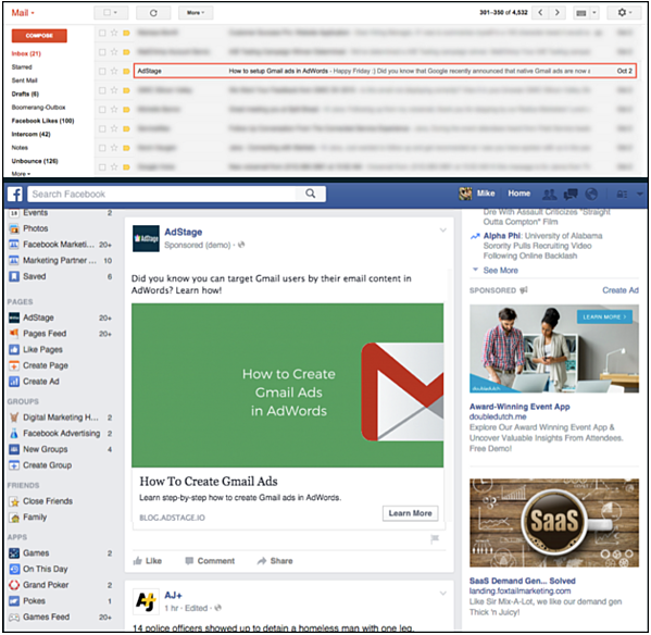 Email & Social Ads