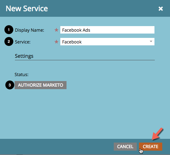Facebook Ads - Marketo Launchpoint Integration