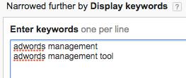 Display Network - Keyword Placements
