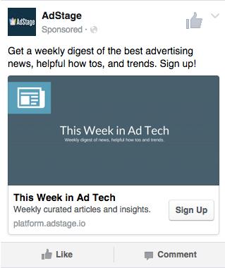 Facebook Lead Ad Type