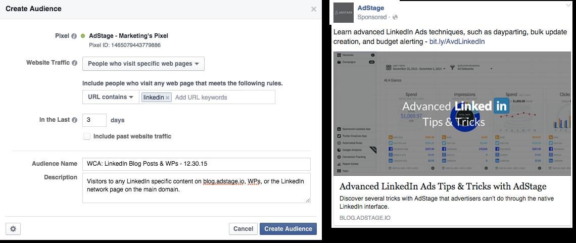LinkedIn Website Custom Audience