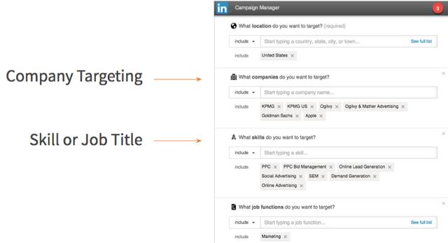 LinkedIn_Company Targeting