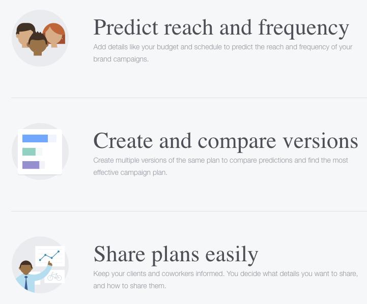 Facebook Campaign Planner Benefits