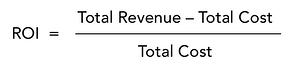 ROI formula