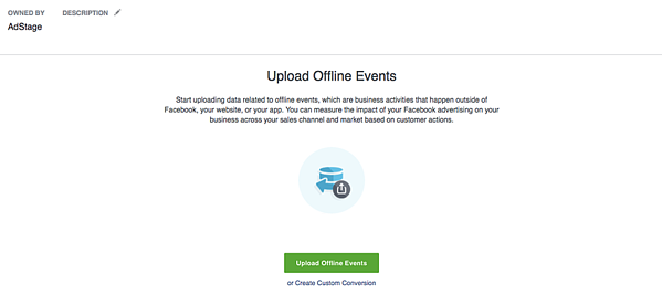 Facebook Upload Offline Events