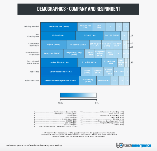 Demographics of company and respondents