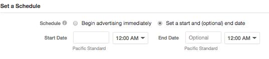 Quora Ads Campaign Schedule