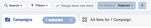 Facebook Ad delivery audit