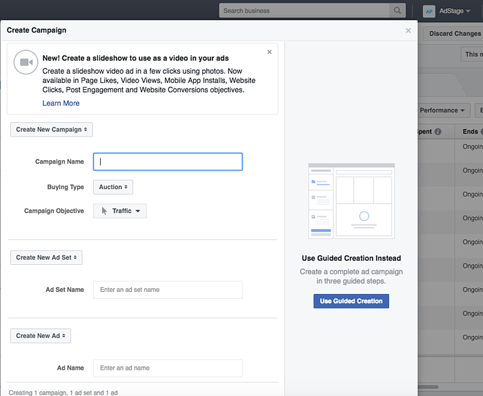 facebook ads manager updates