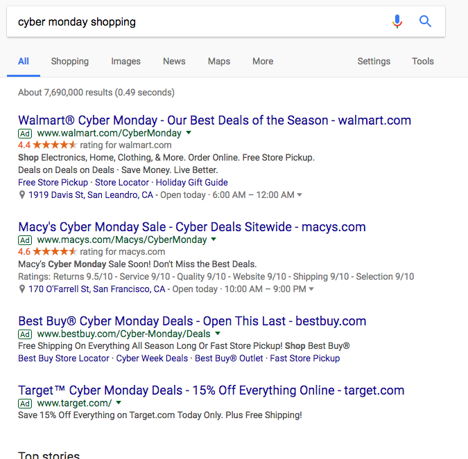 adwords extensions example
