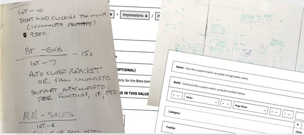 calculated metrics prototype