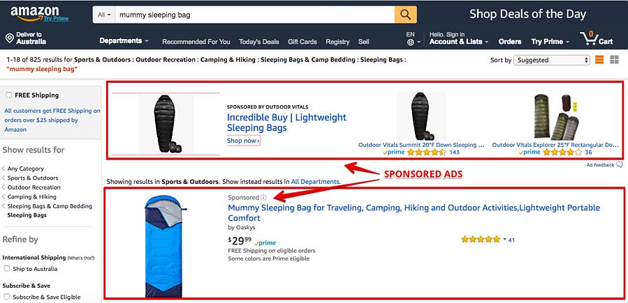 Amazon Sponsored Ads