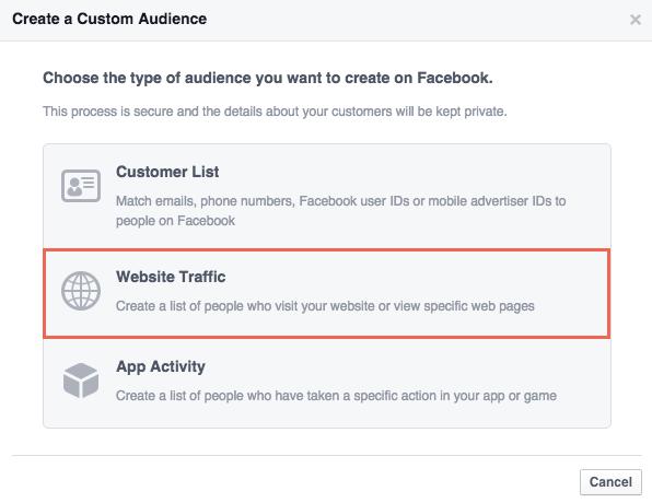 Website Custom Audience