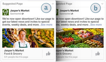 test your facebook ad images