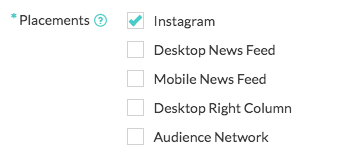 adstage supports instagram ads