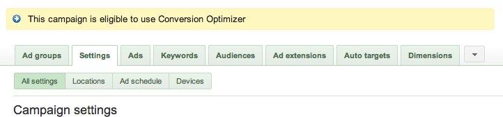 adwords-conversion-optimizer-eligibility