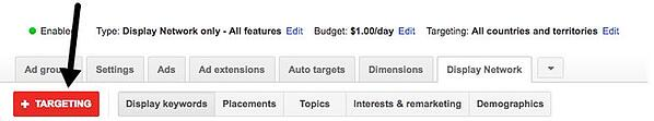 adwords custom affinity audiences