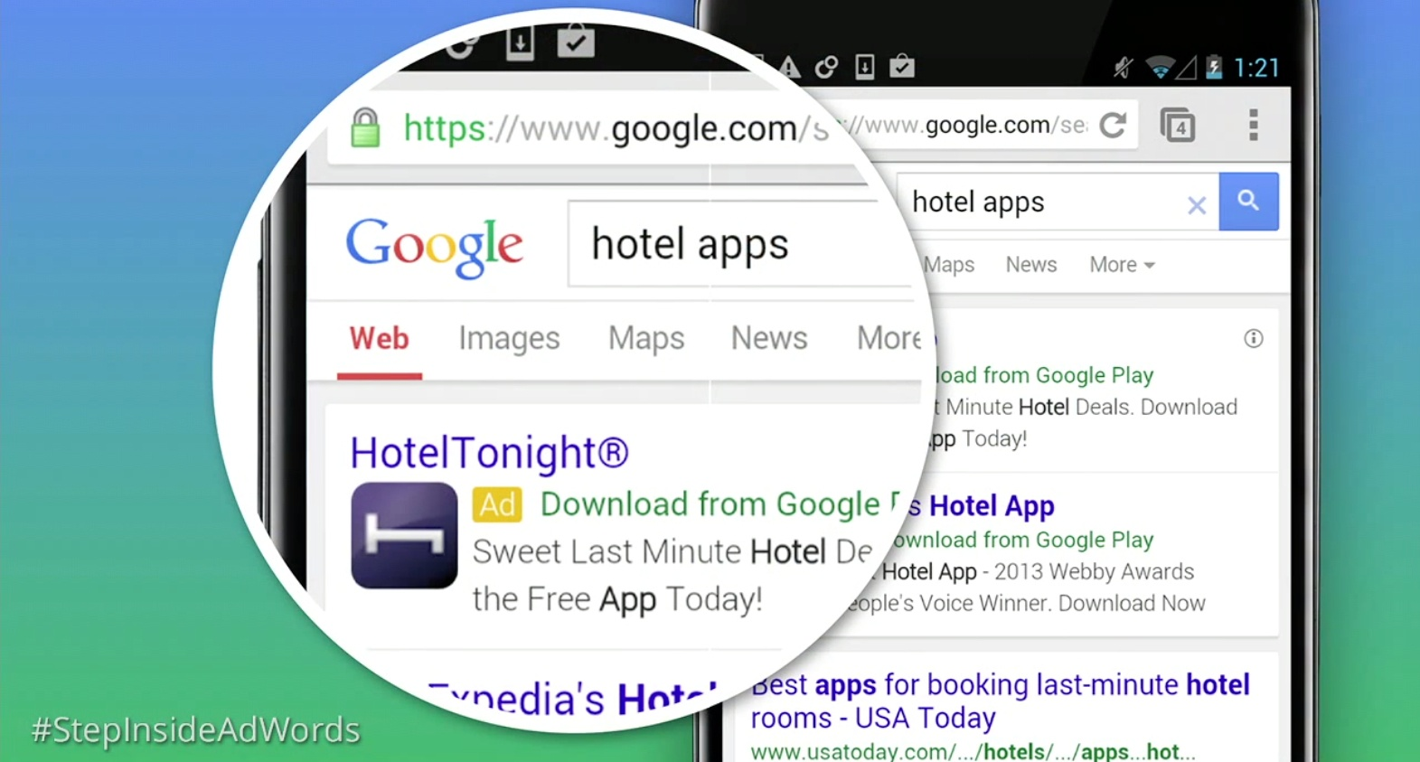adwords mobile app install ads