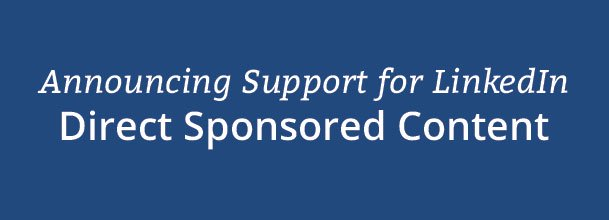 Announcing Support for Direct Sponsored Content