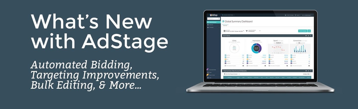 What's New with AdStage - April 2015