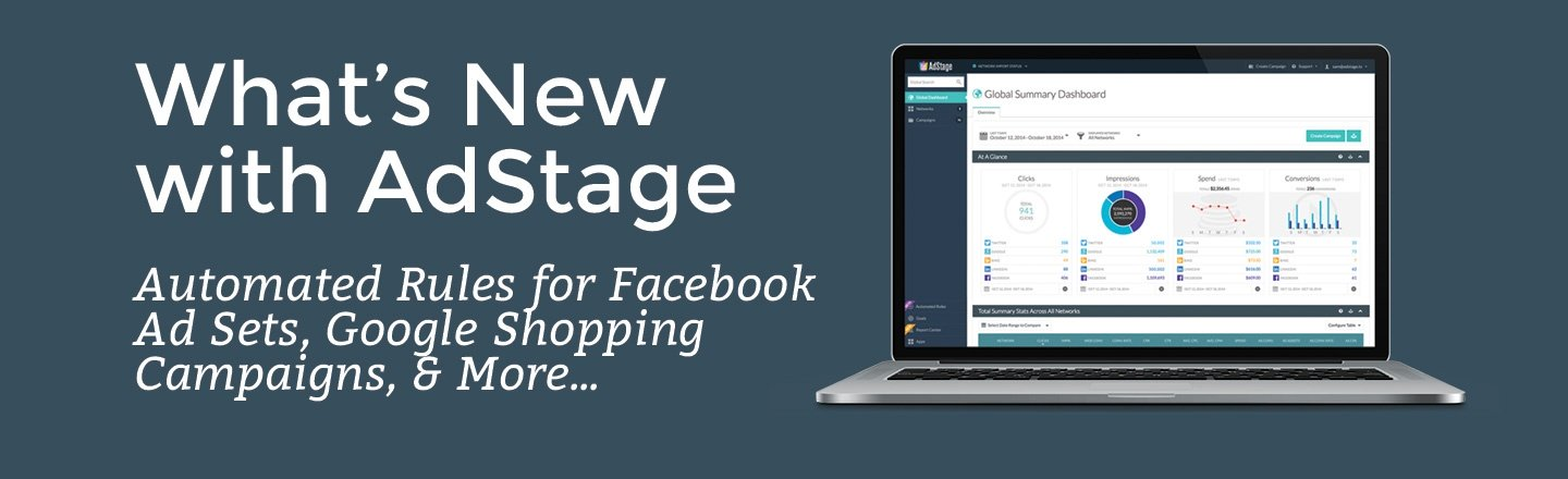 What's New With AdStage
