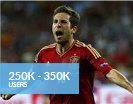 250K - 350K Users