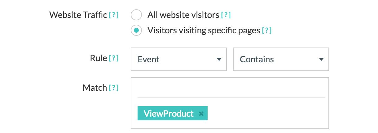 Facebook website custom audiences event rules
