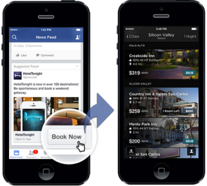 Example of a Facebook Mobile App Engagement Ad in the News Feed