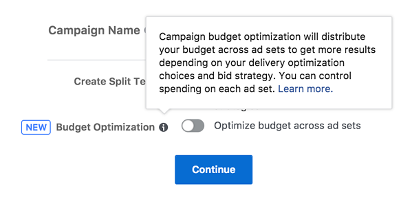 facebook campaign optimization