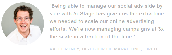 AdStage customer testimonial ppc landing page via blog.adstage.io