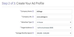 Create Your Social Ad Profile via blog.adstage.io