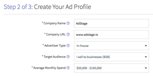 Create Your Social Ad Profile via blog.adstage.io