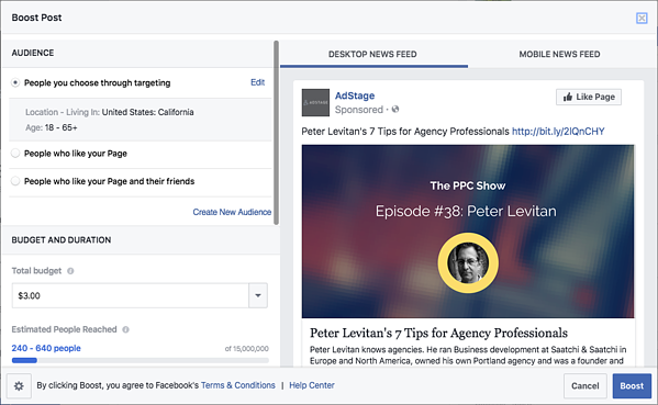 What convinced me to start boosting Facebook posts via blog.adstage.io