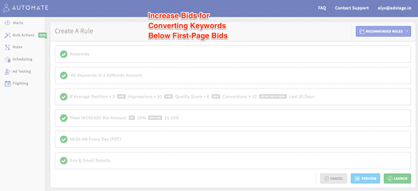 Increase Bids for Converting Keywords Below First-Page Bids via blog.adstage.io