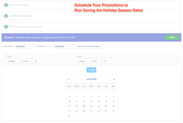 Schedule Promotions to Run During a Set Time Period via blog.adstage.io