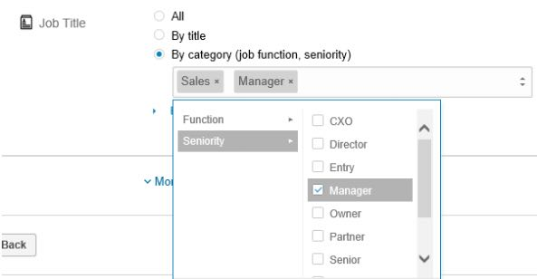 Linkedin Ads Targeting Job Function