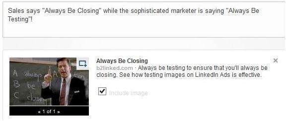 LinkedIn Ads A/B Testing