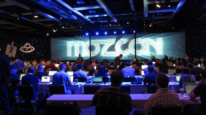 MozCon -- best digital marketing conferences for 2018