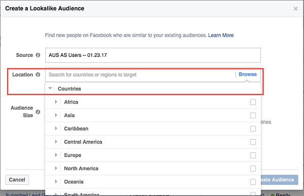 lookalike audiences  customers  ads