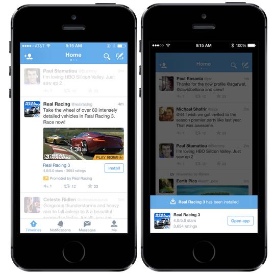 Twitter Ads App Card