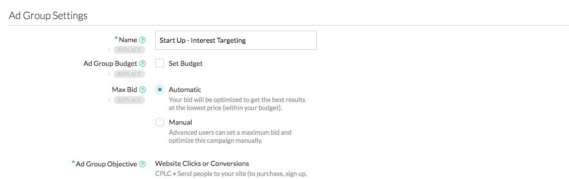 Twitter Automated Bidding