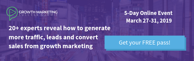 growth marketing success summit get your free pass